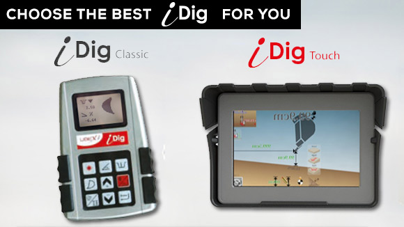 iDig Excavator Control
