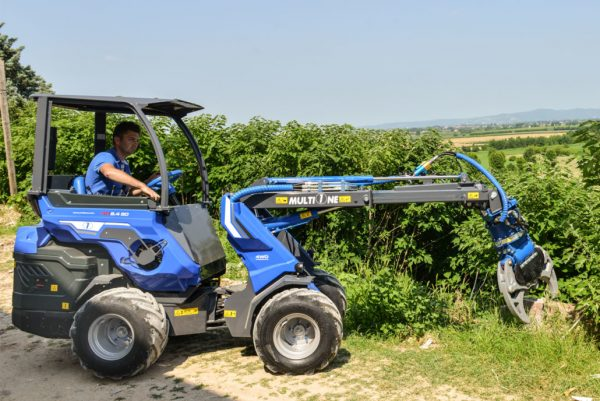 Multione SD Series Mini Loader - The Rear Seated Multione