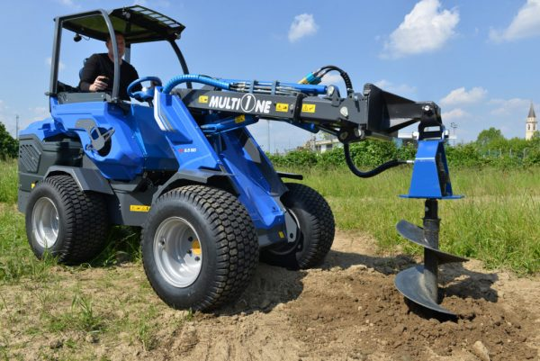 MultiOne mini loader SD series with auger